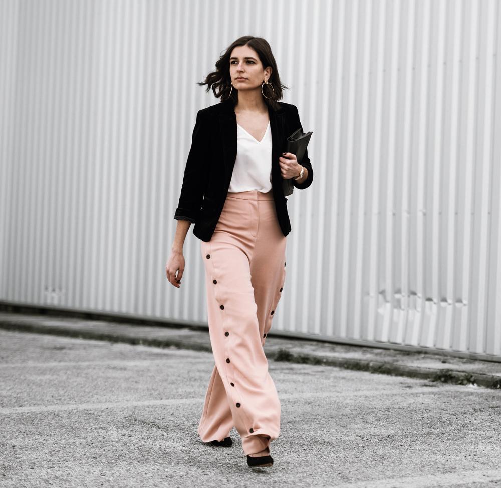 Black And Pink Outfit | Aria Di Bari