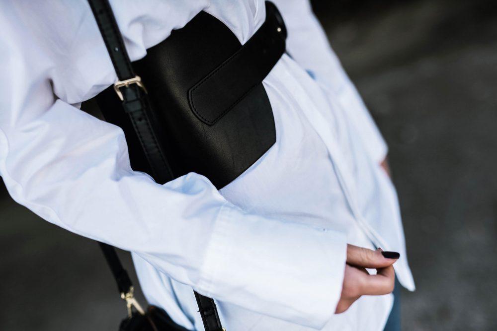 corset belt trend
