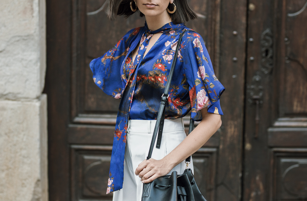 How to wear oversized culottes the chic way