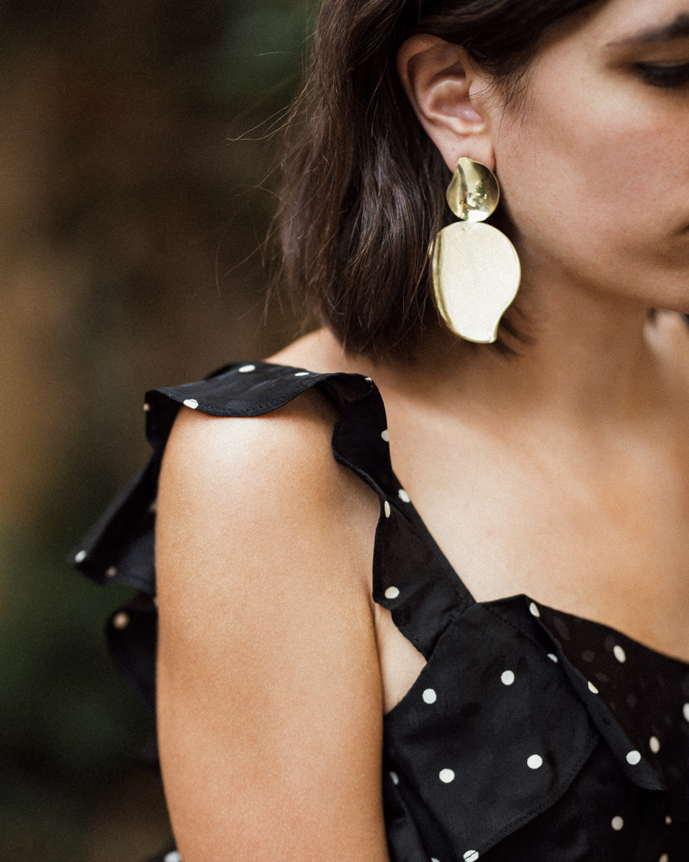 How to wear a polka dot dress in 2017