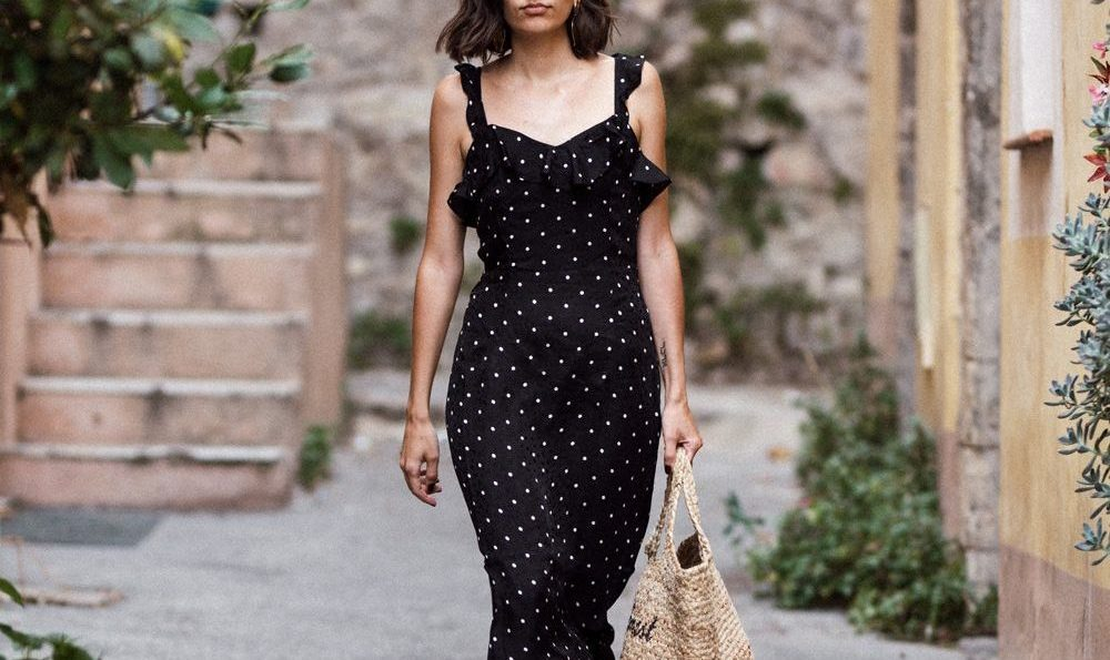 How to wear a polka dot dress in 2017