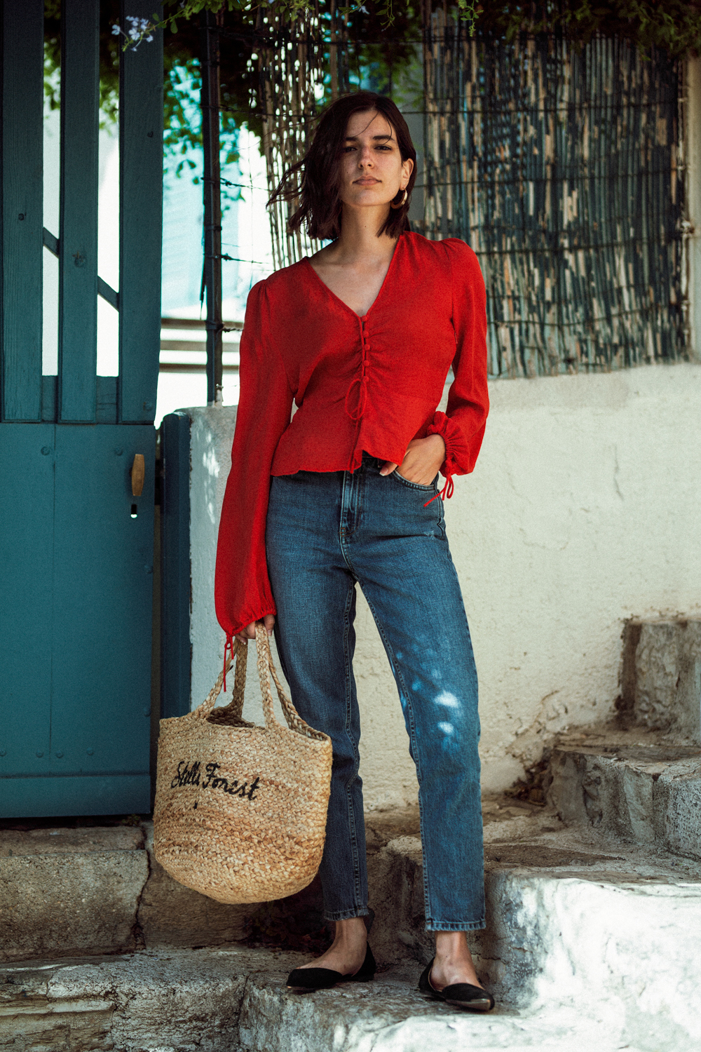 A foolproof outfit formula for the end of summer