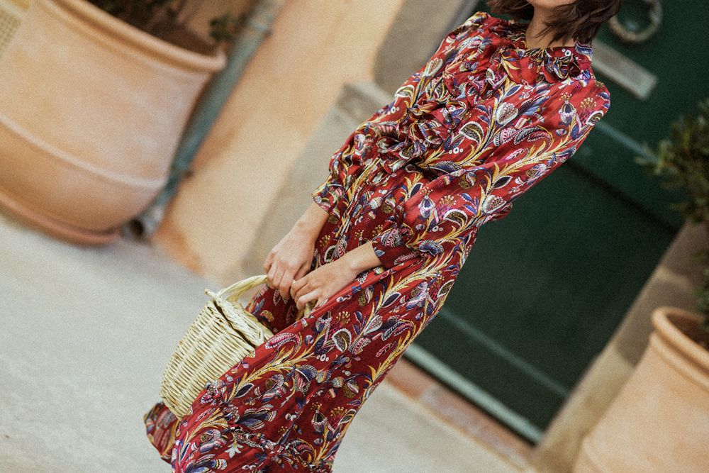 The paisley maxi dress you need in your wardrobe