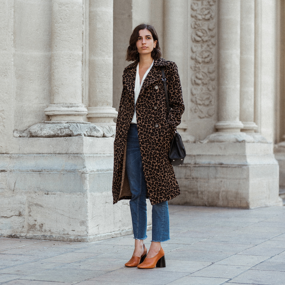 The timeless leopard print coat everyone should own