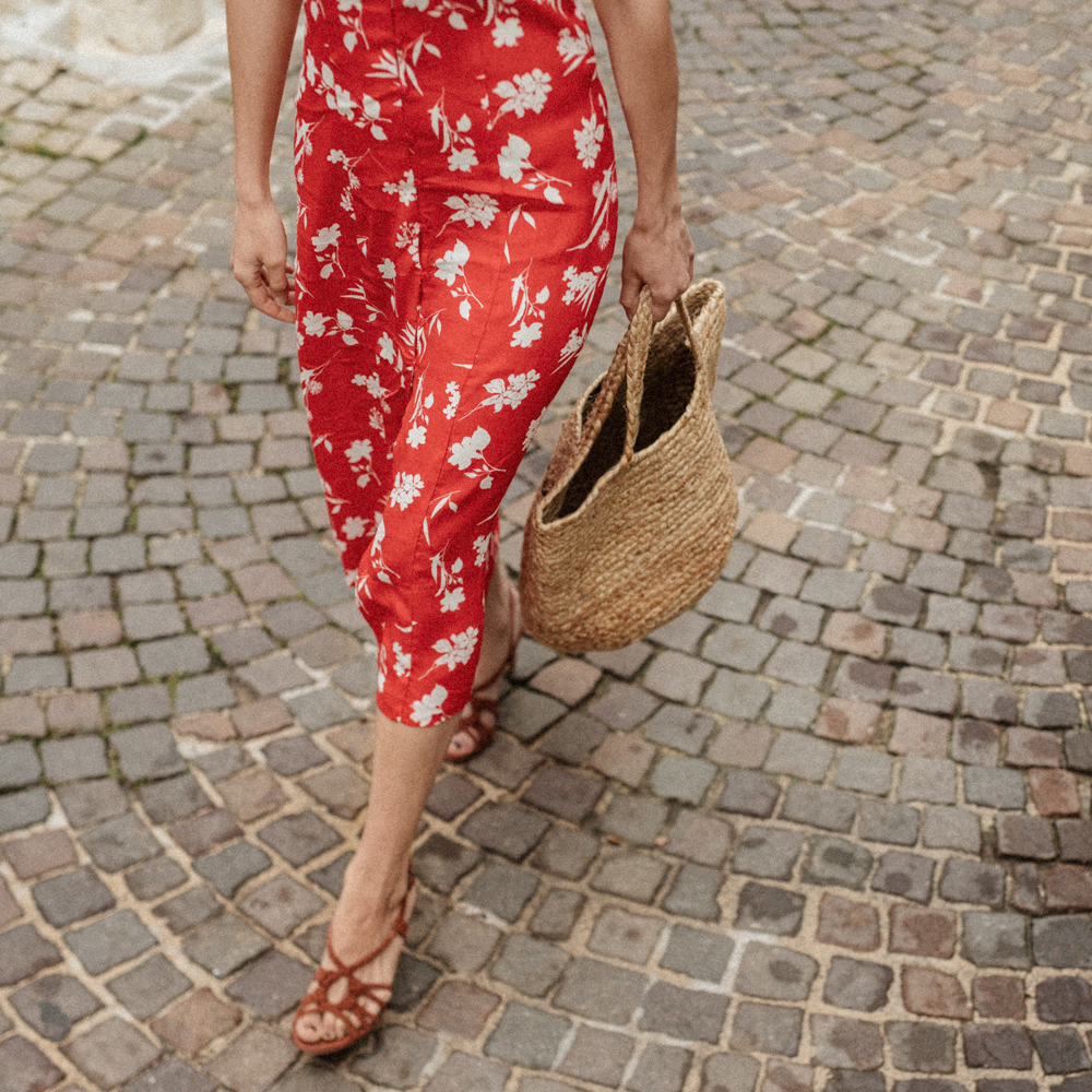 The perfect floral dress for summer