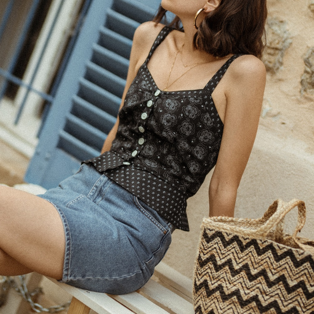 The cutest French top to wear this summer