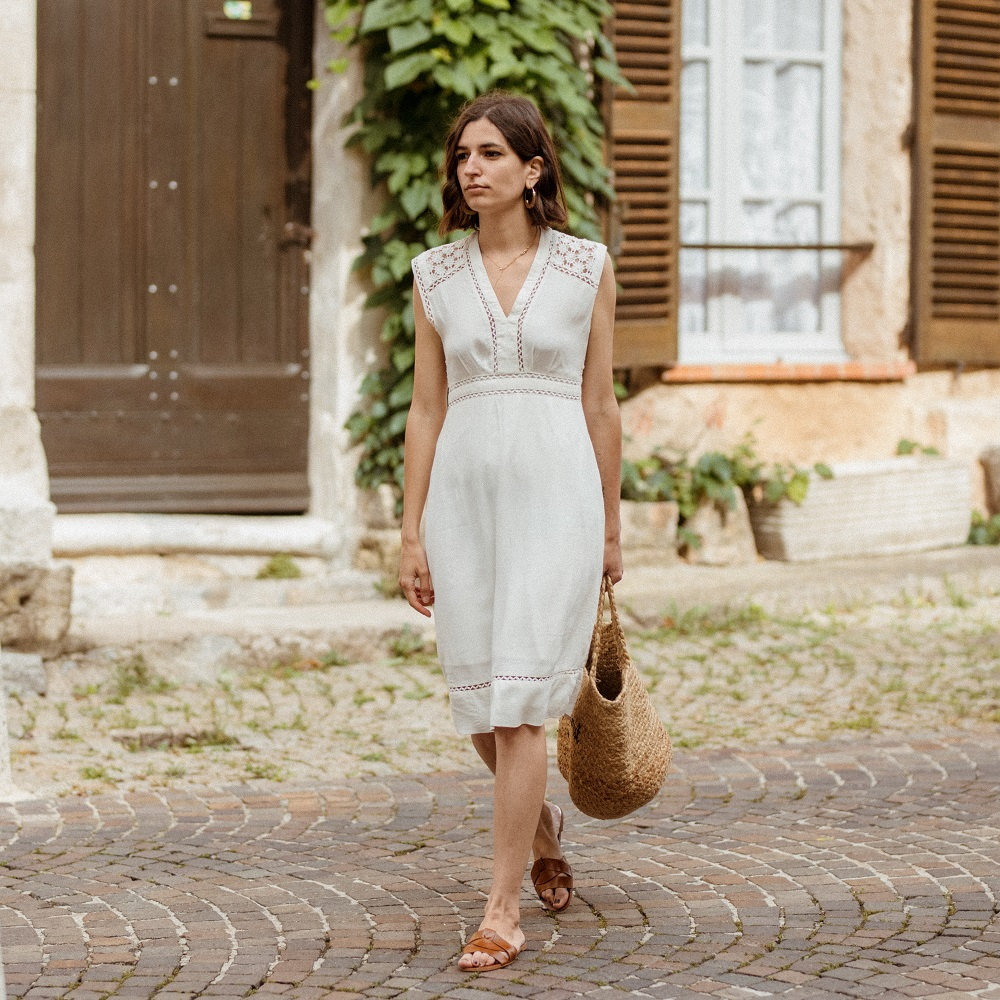 The perfect summer little white dress