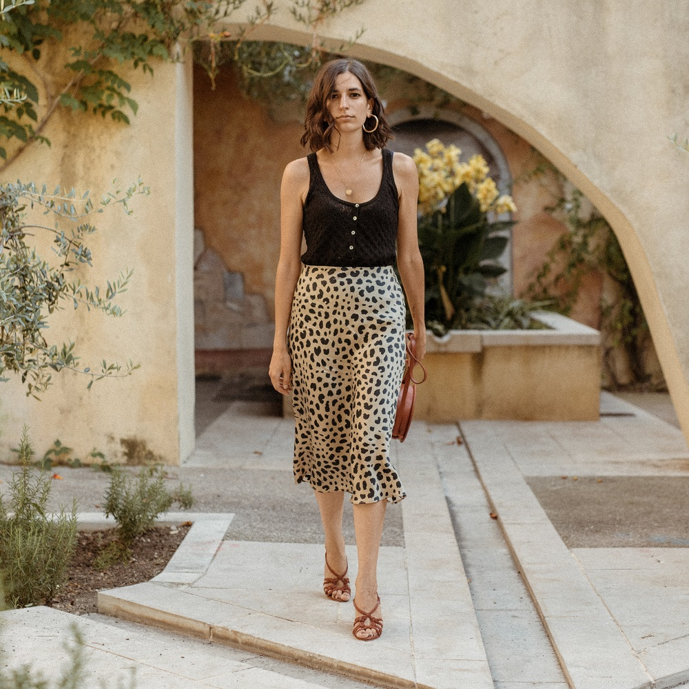 The leopard skirt I've been wearing on repeat
