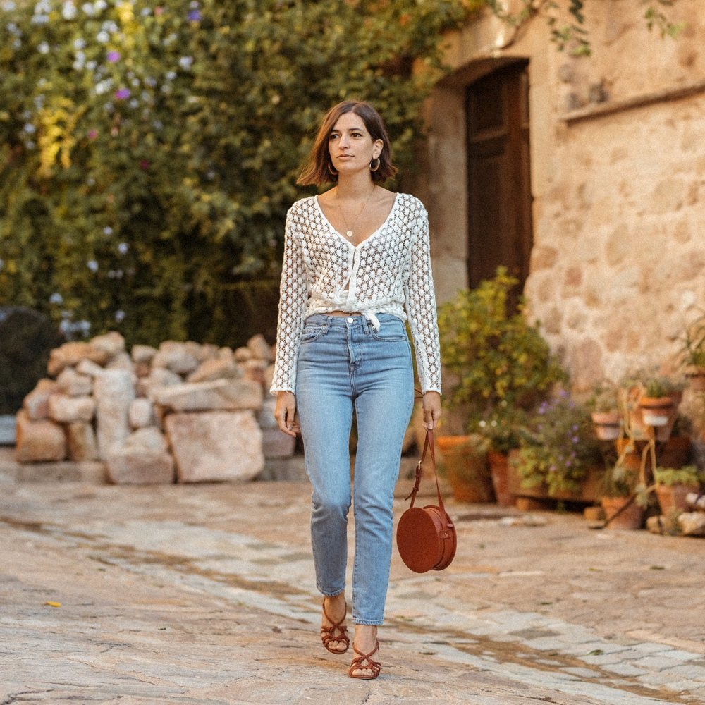 That summer blouse I will still wear all fall long