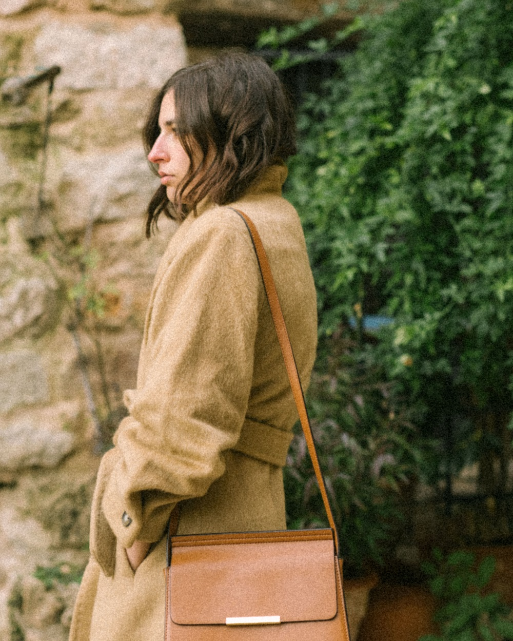 A statement camel coat to wear all winter long