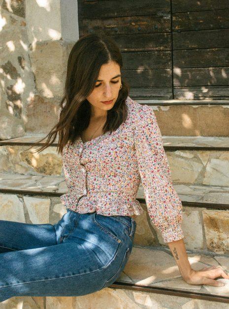 Mila blouse | Floral
