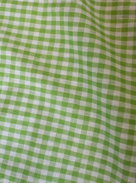 Anthea dress | Green gingham