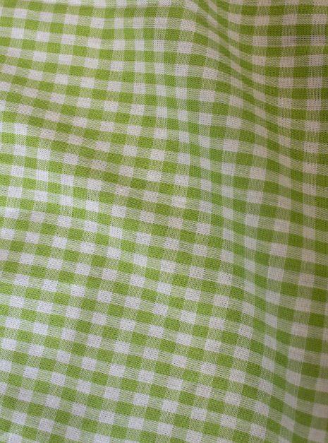 Top Luz | Vichy vert