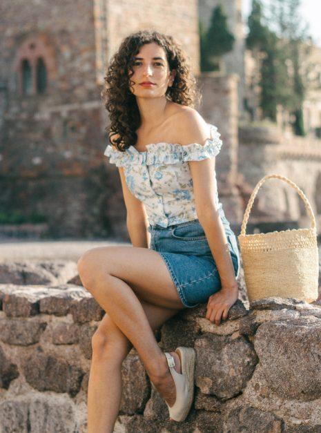 Top Lucia | Pivoines bleues